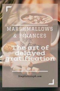 Marshmallows & Finances | Simplistic Steph
