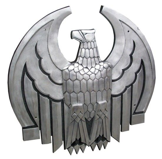 American Art Deco Cast Iron Eagle - graced the New York City Chase National Bank in the 1930's.