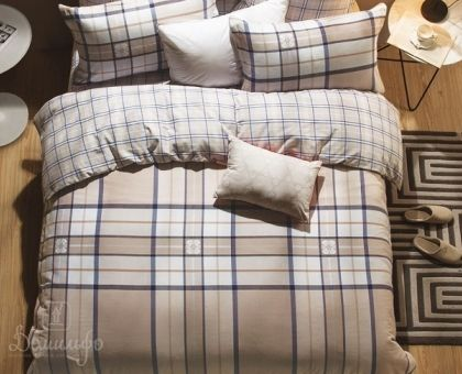 Купить постельное белье из фланели MANTESSO 1,5-сп от производителя Asabella (Китай)