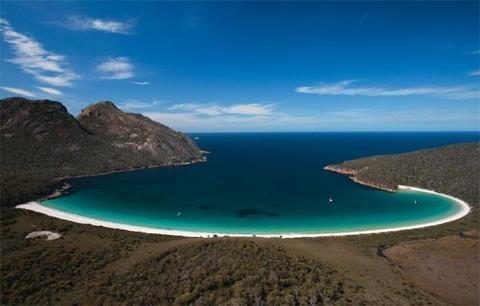 Wine glass bay tasman