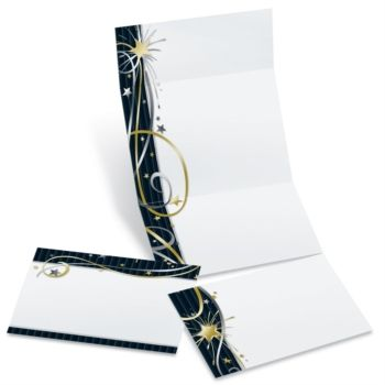 After Midnight Fold-Up Invitations | PaperDirect