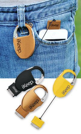 keychain charger. Could be perfect for music festivals, long hikes, or camping.