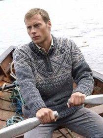 Irish Halfzip Sweater Merino Wool K4185