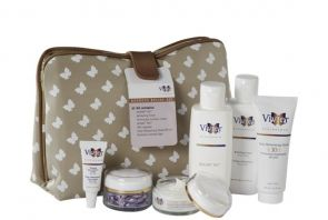 Vivier Redness Relief Kit system contains all of the recommended products for rosacea and redness.  Contains full sizes of the following products: HEXAM IDS Gentle Cleanser, Refreshing Toner, Firming Eye Contour Cream, A/K Capsules, LEXXEL IDS Redness Relief Moisturizing Cream, Sunscreen Lotion SPF30 (formerly Daily Moisturizing Shield) packaged in an elegant cosmetic bag.