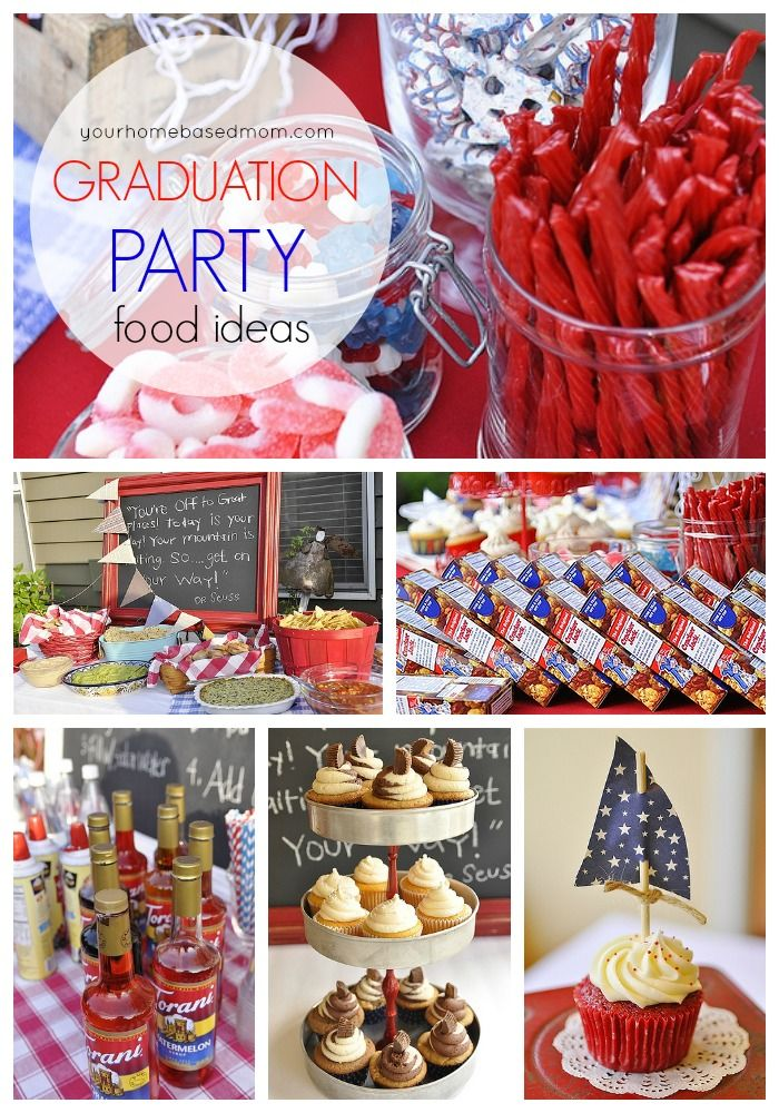 Graduation Party Food Ideas For The Perfect Yourhomebasedmom