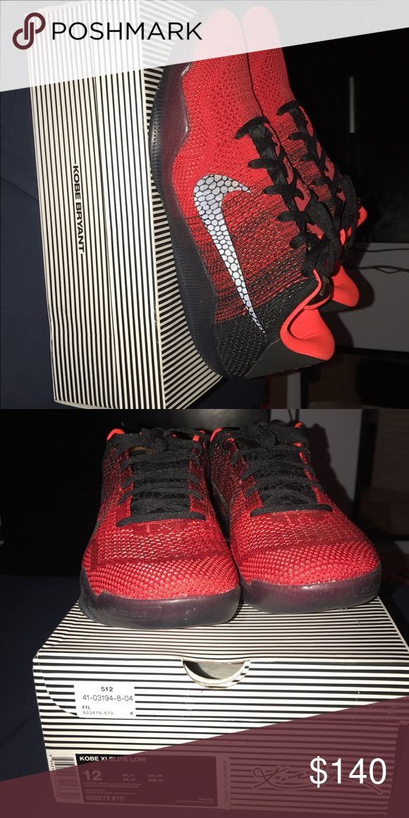 Kobe Bryant Basketball Shoes Worn once. Box included. Nike Shoes Athletic Shoes