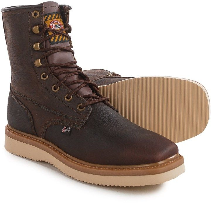 Justin Boots Flakeboard Work Boots (For Men)