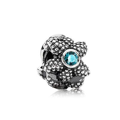 Got this beauty last night too! ❤️PANDORA | Sea star, turquoise synthetic spinel