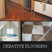 Creative Flooring Ideas For Your Cottage Inexpensive