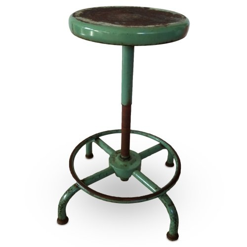 Industrial Drafting Stool -- drafting class was so much fun!