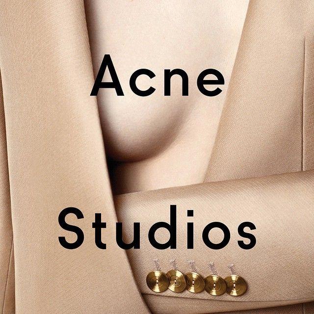 Acne Studios SS15 campaign by Viviane Sassen