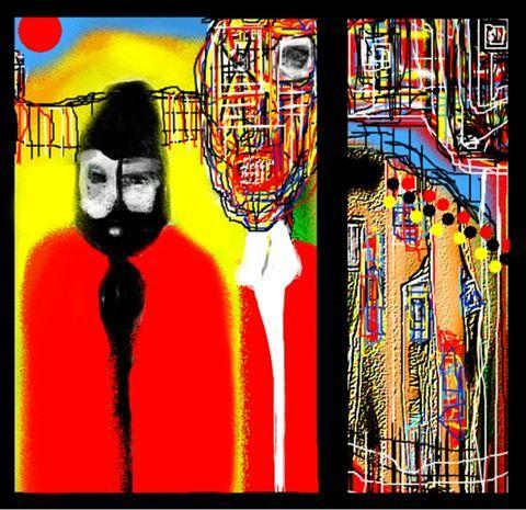 """American Goth Fable"" by Artist Ruth Clotworthy"