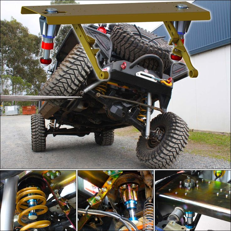 Hydraulic Bump Stop Kits - Perfect solution for #4WD vehicles that experience #suspension bottoming at high speeds or when carrying heavy load https://goo.gl/BCmo1t