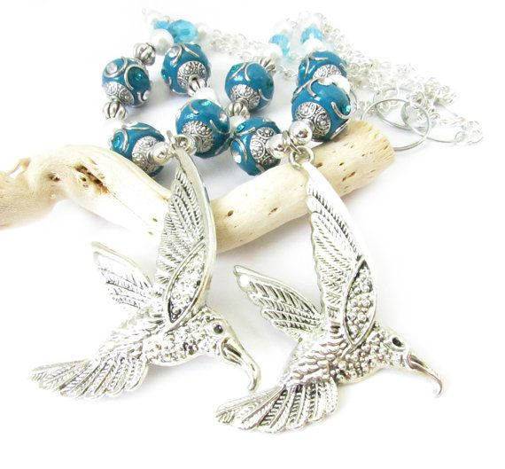 These Hummingbird Curtain Tiebacks Will Hang Prettily From Your