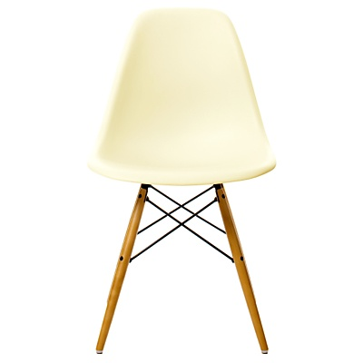 Eames DSW Side Chair, Cream