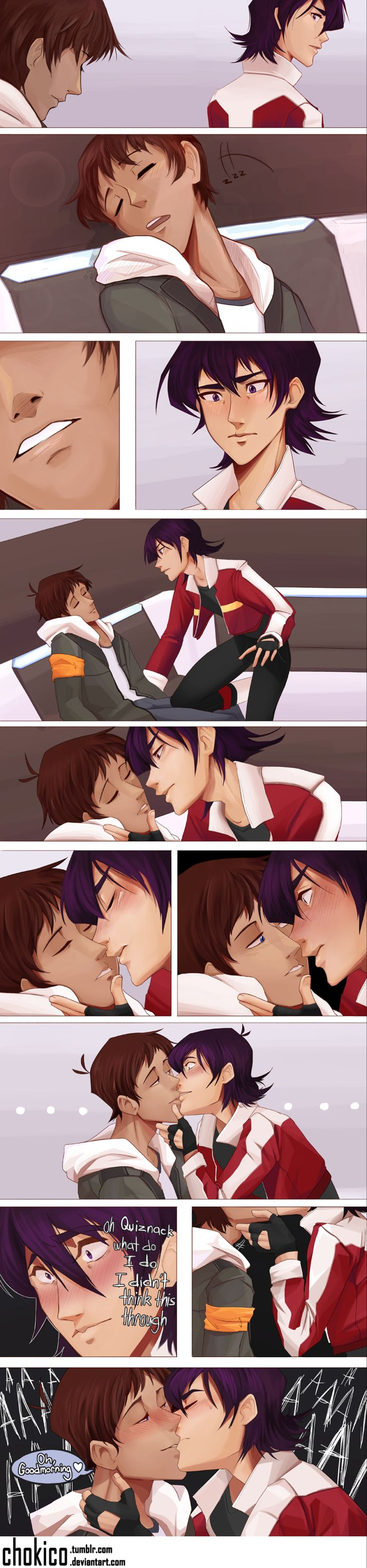 Klance by Chokico on @DeviantArt