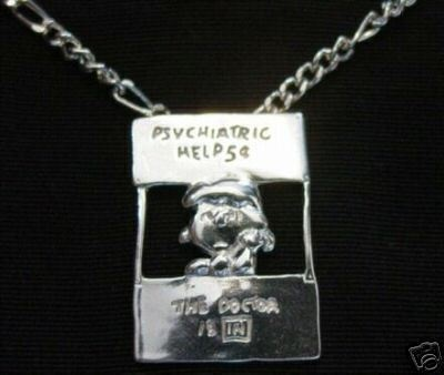 Lucy Charlie Brown Charm Peanuts Snoopy Sterling Silver Doctor Psychiatric Help | eBay