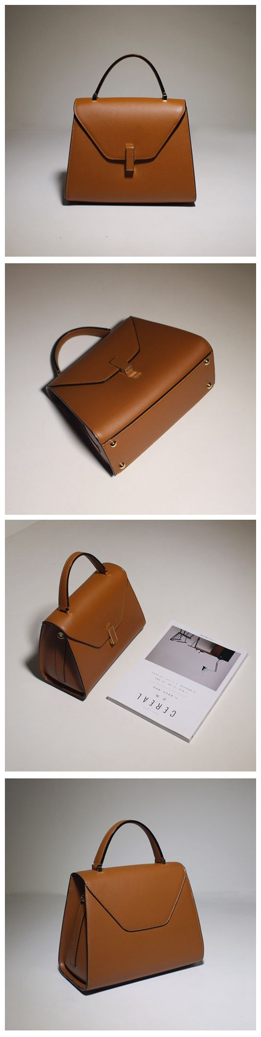 Women's Fashion Leather Handbag Shoulder Bag Cross Body Bag Messenger Satchel Purse MY02 Overview: Design: Women's Fashion Handbag Shoulder Bag In Stock: 3-5 days for making Include: Leather handbag a