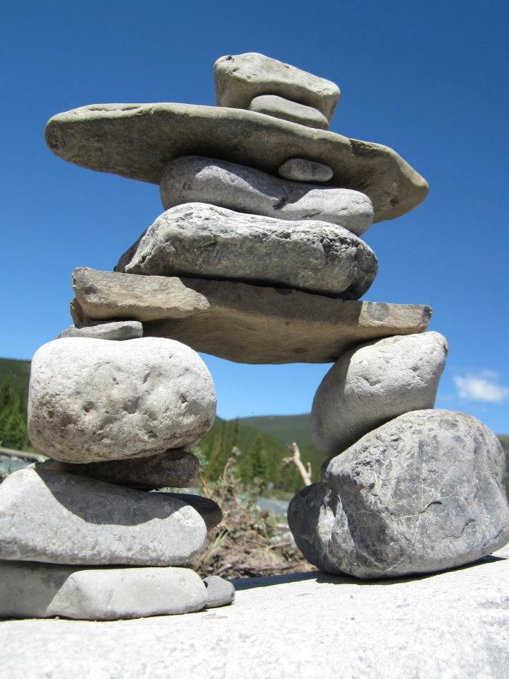 Natural Stone Structure : Best images about inukshuk etc stacked stones on