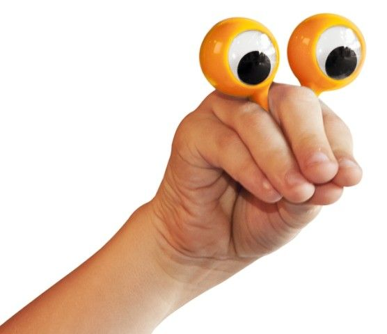 Quack - Eye Puppet Finger Eyes Perfect fun puppet to start the show #EntropyWishList #PinToWin