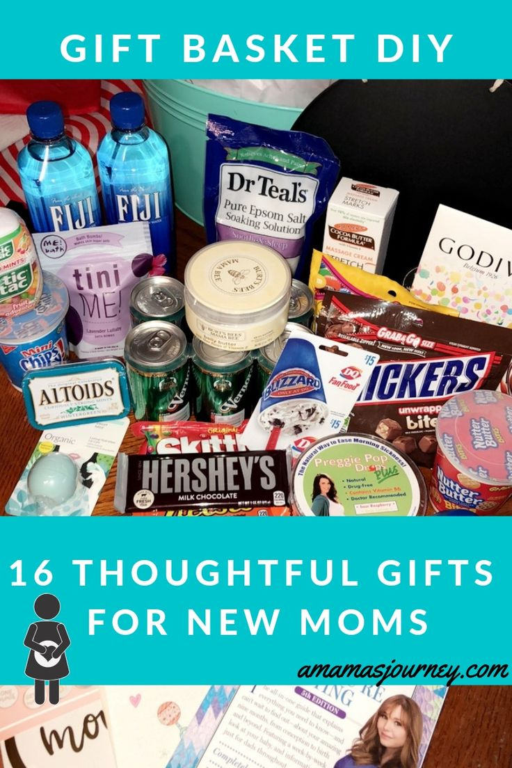 Gifts for new moms gift basket diy gifts for new moms