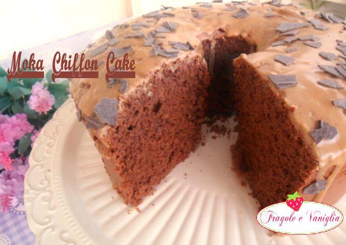 Moka Chiffon Cake
