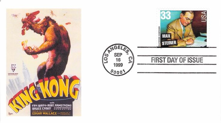 1999 Hollywood Composers First Day Cover - Max Steiner