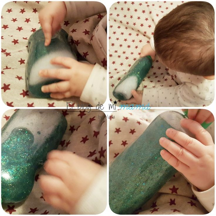 Botella de la calma Montessori DIY