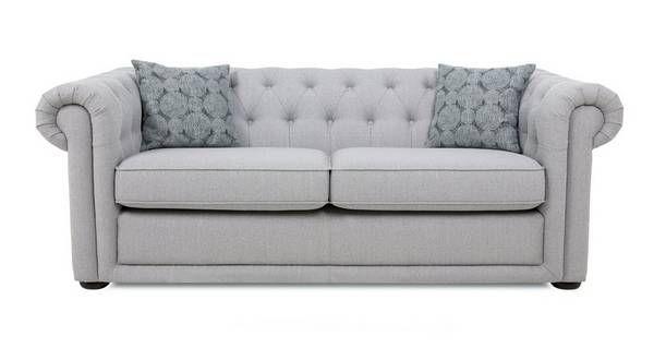 Chester Plain 3 Seater Sofa  Abbey Plain | DFS