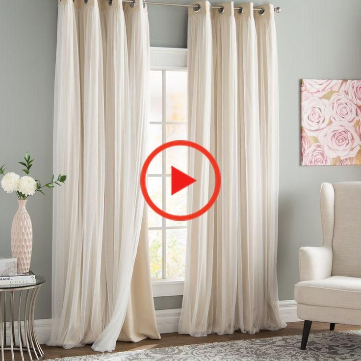 Brockham Solid Room Darkening Thermal Grommet Curtain Panels In 2020 Grommet Curtains Curtains Panel Curtains