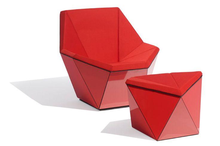Prisma meubels - knoll ontwerp bureau, washington collection, david adjave - wonen voor mannen