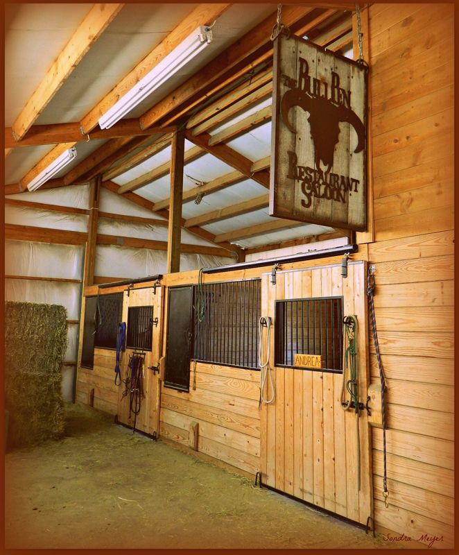 Horse Stalls From Barn In Parker, CO In My Barn Each