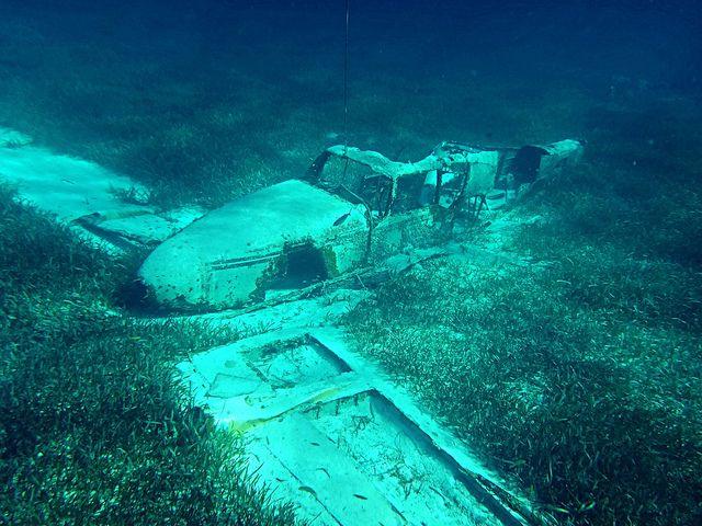Sunken Planes   Sunken Plane   Found Underwater ...