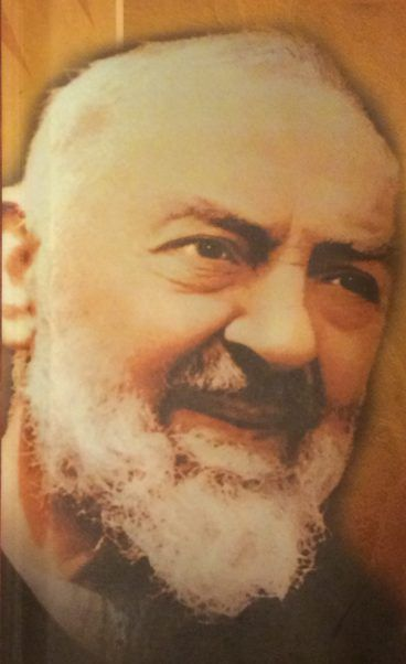 """""""Pray, hope, and don't worry. Worry is useless. God is merciful and will hear your prayer."""" St. Pius of Pietrelcina (Padre Pio)"""
