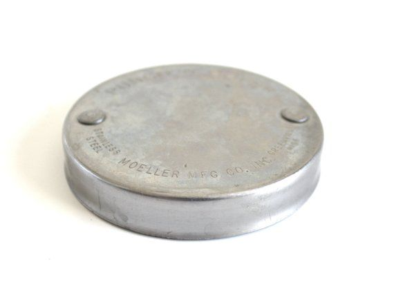 Evaporated Milk Can Lid Punch N Cover Stainless Steel