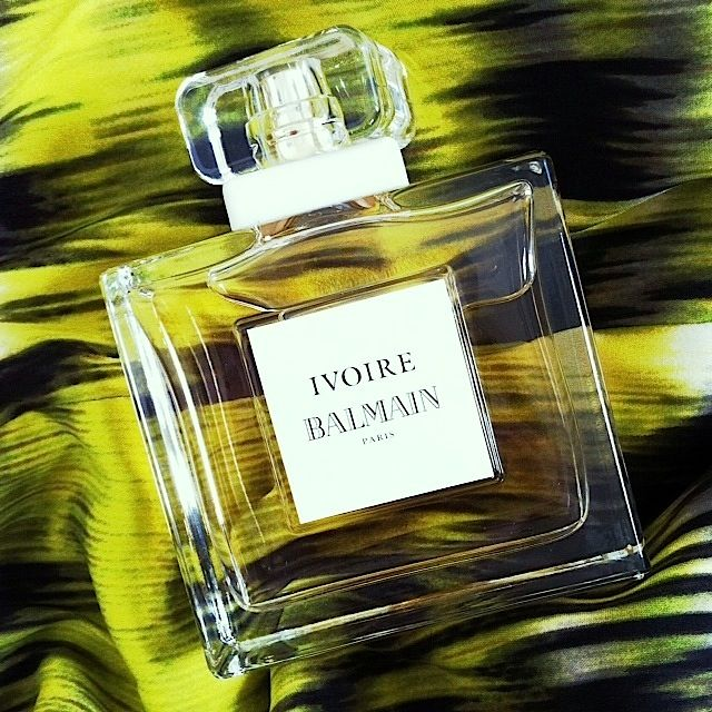 #Ivoire #Balmain retails for R645 for a 30ml EDP, R795 for a 50ml EDP & R1195 for a 100ml EDP and is available exclusively at #Stuttafords. A #fragrance affair!