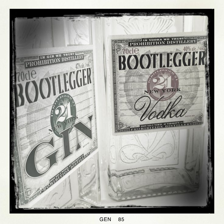 Gin Bootlegger 21 Proibhition Distillery #gin #bootlagger #prohibitiondidtillery