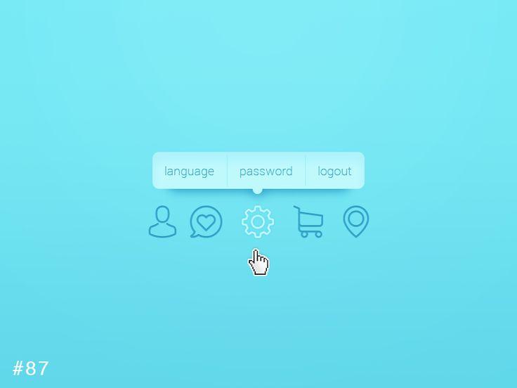 DailyUI design - Tooltip