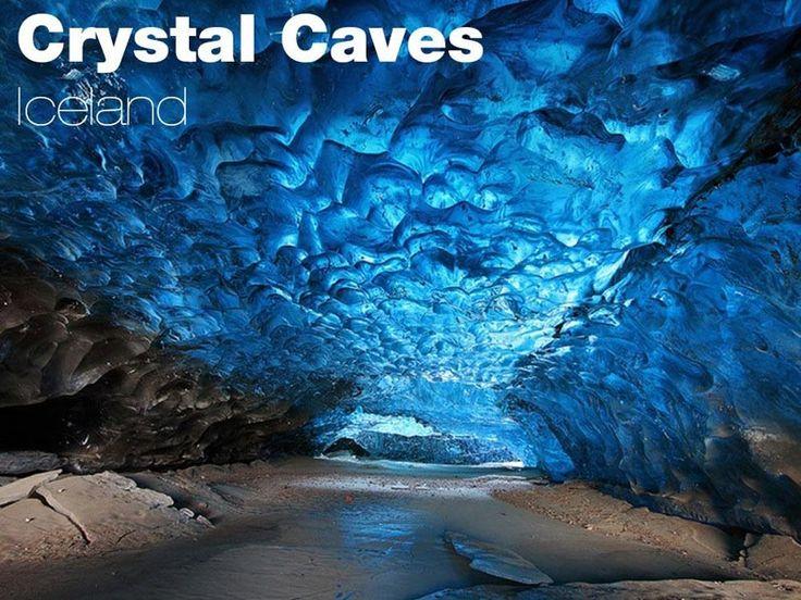 Crystal Caves, Skaftafell - Islanda