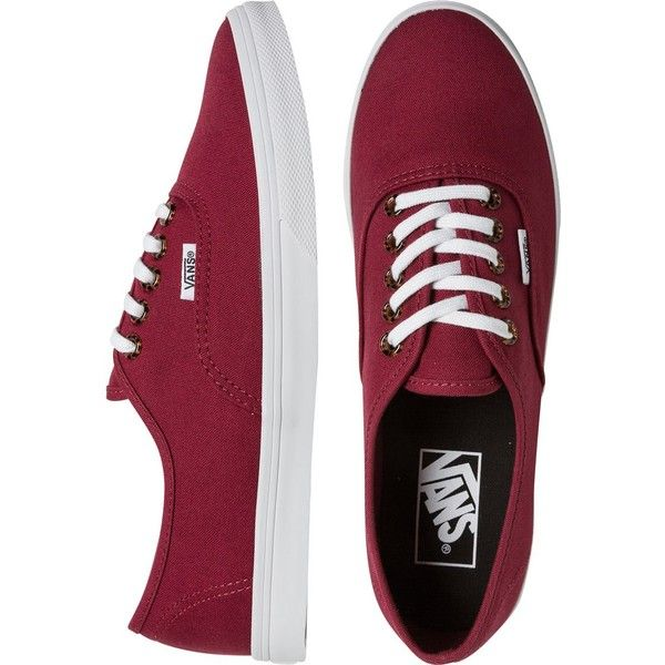 VANS Tortoise eyelets authentic lo pro shoe ($45) ❤ liked on Polyvore featuring shoes, sneakers, vans, zapatos, vans trainers, laced up shoes, vans shoes, lacing sneakers and vans sneakers