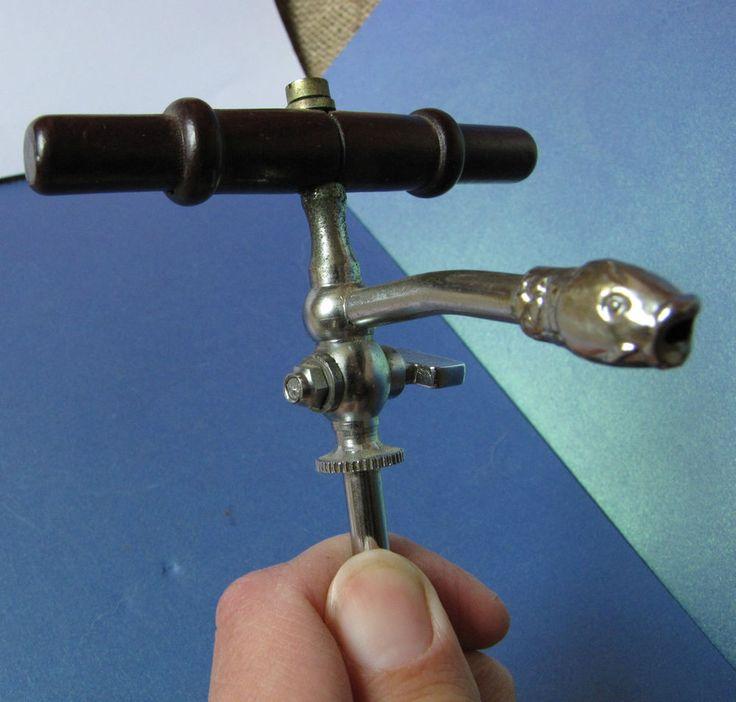 Old Barware Sweden Bottle FISH Corkscrew Pourer Stopper Pour Spout Dispenser
