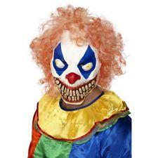 Evil Clown Mask Unisex One Size 24086 $16.50
