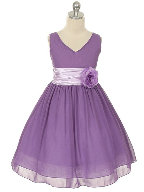 Knee-length - Junior Bridesmaid Dresses