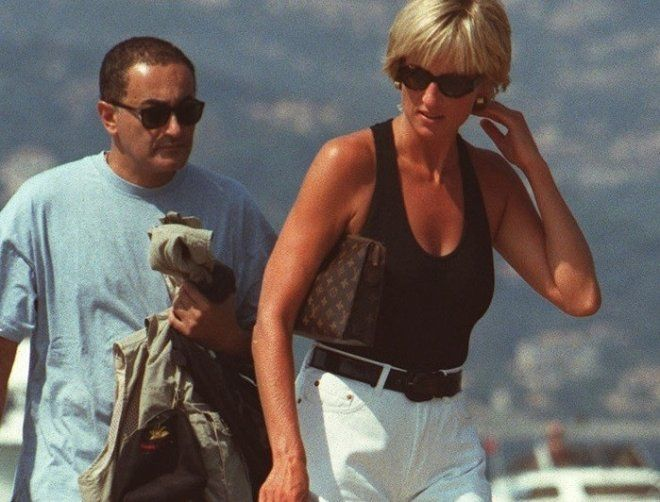 Princess+Diana+and+Dodi+Fayed | Princess Diana with Dodi Fayed are phtographed in the south of France ...