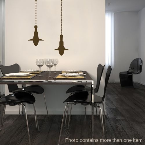 Vinyl Decoration Table : Best images about dining room wall decor on pinterest