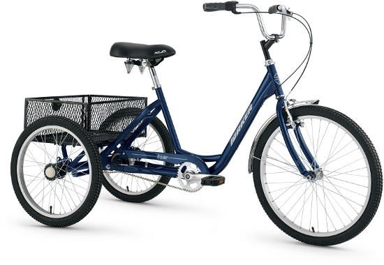 2012 Torker Tristar 3-speed adult tricycle