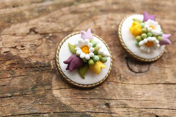 Botanical jewelry shabby chic jewelry wedding accessories