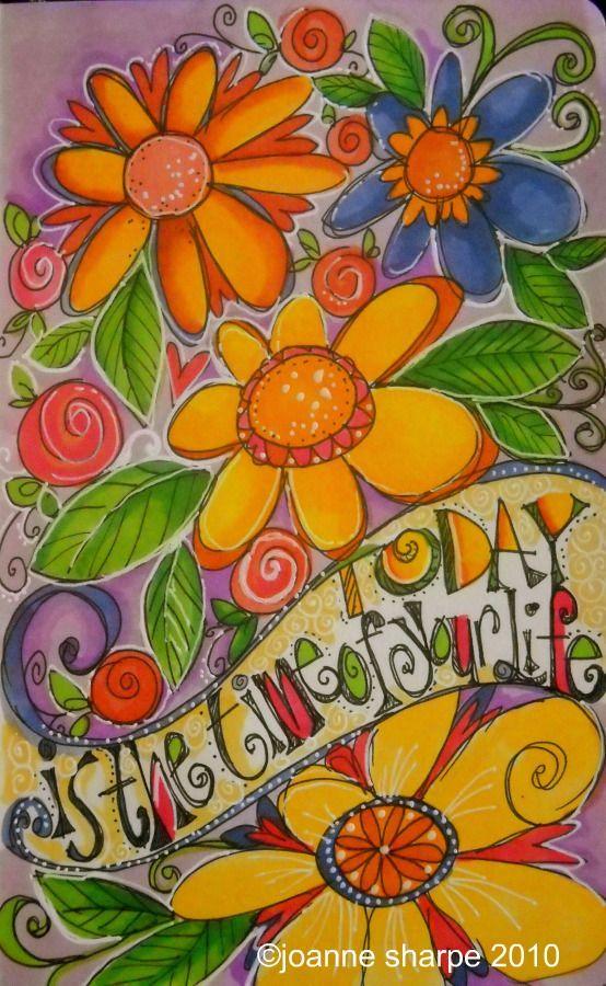 Color doodle, Joanne Sharpe