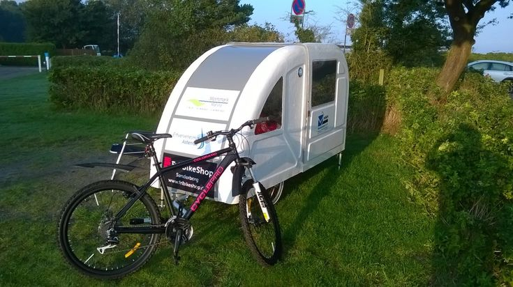 mobile home bicycle 2015 concept wide path camper gode ideer pinterest. Black Bedroom Furniture Sets. Home Design Ideas