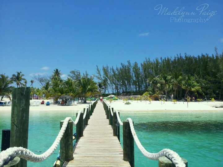 Blue Lagoon Island, Bahamas.